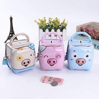 Hộp kẽm tiết kiệm hình lợn con