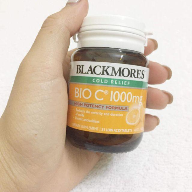 Kết quả hình ảnh cho blackmores vitamin c 31 low