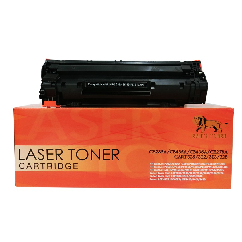 หมึกพริ้นเตอร์ HP 85A Black LaserJet Toner Cartridge ตัวเทียบเท่า