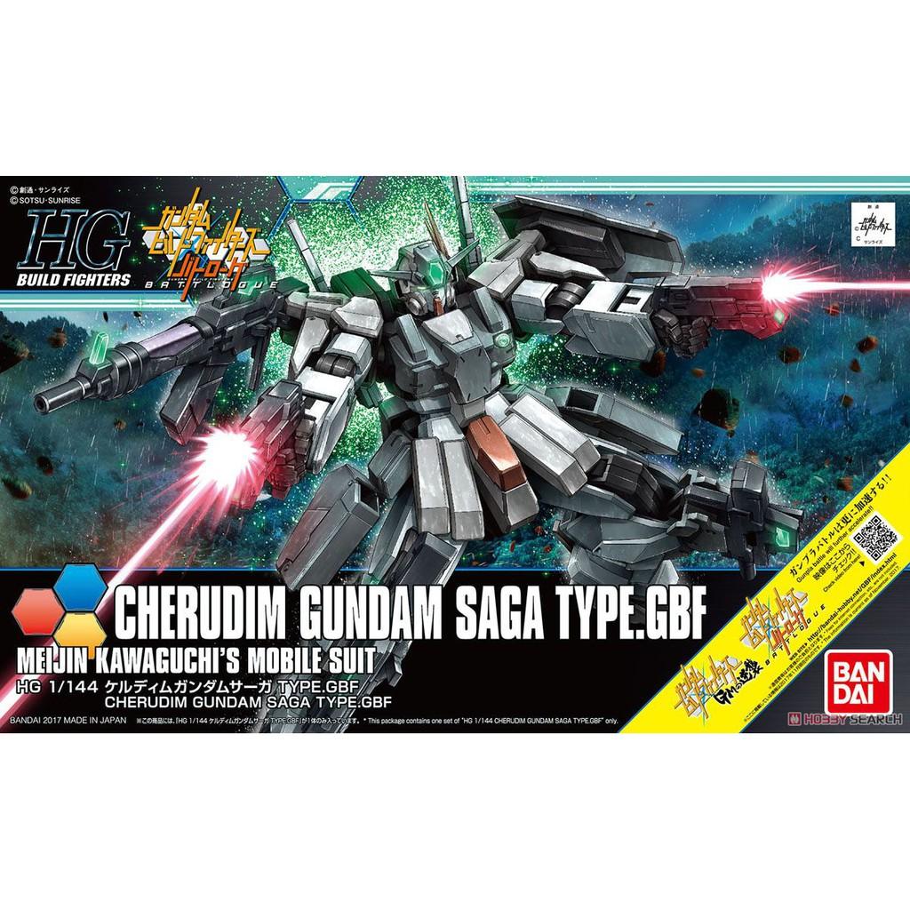Mô Hình Gundam HG BF Cherudim Saga Type.GBF