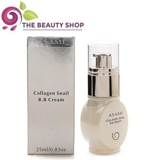 Kem nền dưỡng ẩm, trắng da Asami Collagen Snail B.B Cream 25ml thumbnail