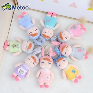 XH Metoo Mickey Gull Bell Charm Angela Doll Duck Mini Plush Túi đồ chơi sang trọng Mặt dây chuyền