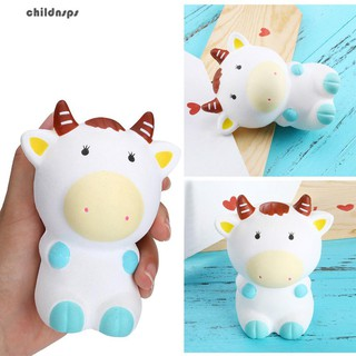 Soft Slow Rising Simulation Cute Cow Kids Adult Decompression Relax Toy Gift