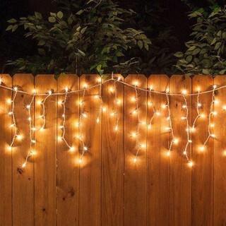 Hình ảnh Đèn LED Trang Trí Thả Mành Kiểu Rèm Mưa Nhiều Kích Thước 3m x 3m; 3m x 2,5m; 4m x 0,6m-8