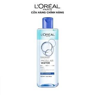 Hình ảnh Nước tẩy trang cho mọi loại da L'Oreal Paris 3-in-1 Micellar Water 400ml-0