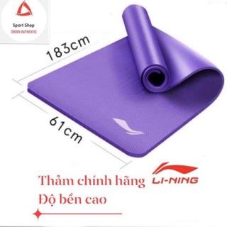 Thảm tập Yoga LINING chính hãng (kèm túi đựng, dây đeo) – SALE SỐC