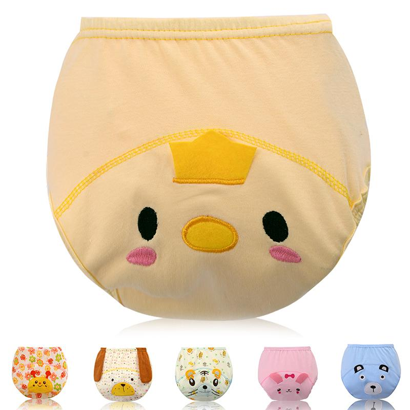 Baby Shorts Underwear Diaper Toddler Boys Girls Toilet Pee Training Underpants