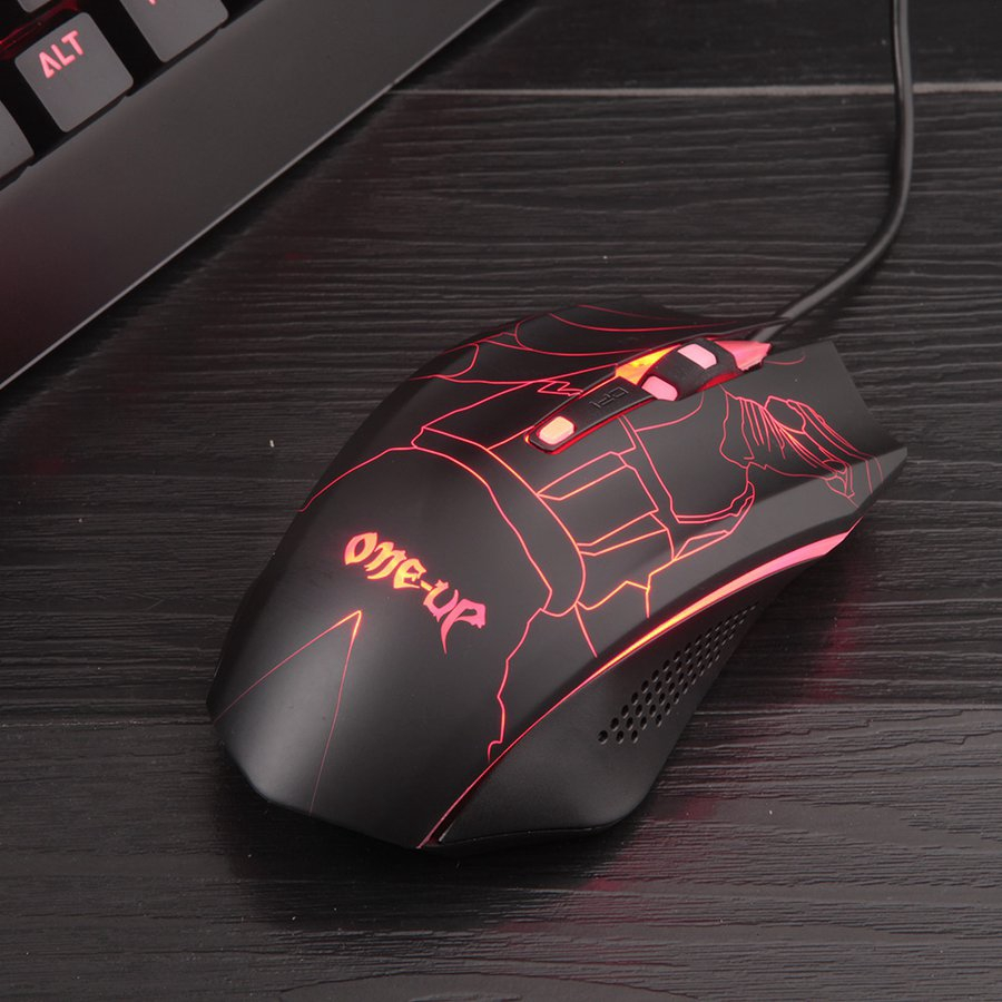 Fashion G5 Full Black Wireless Computer Mouse 3050 Solution Mouse Game Mouse