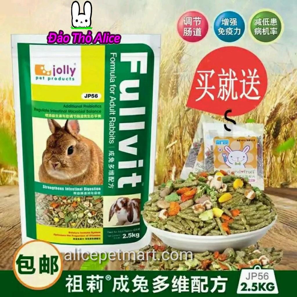 Thức Ăn Thỏ Bọ Fullvit 1kg (có thỏ con và thỏ lớn)