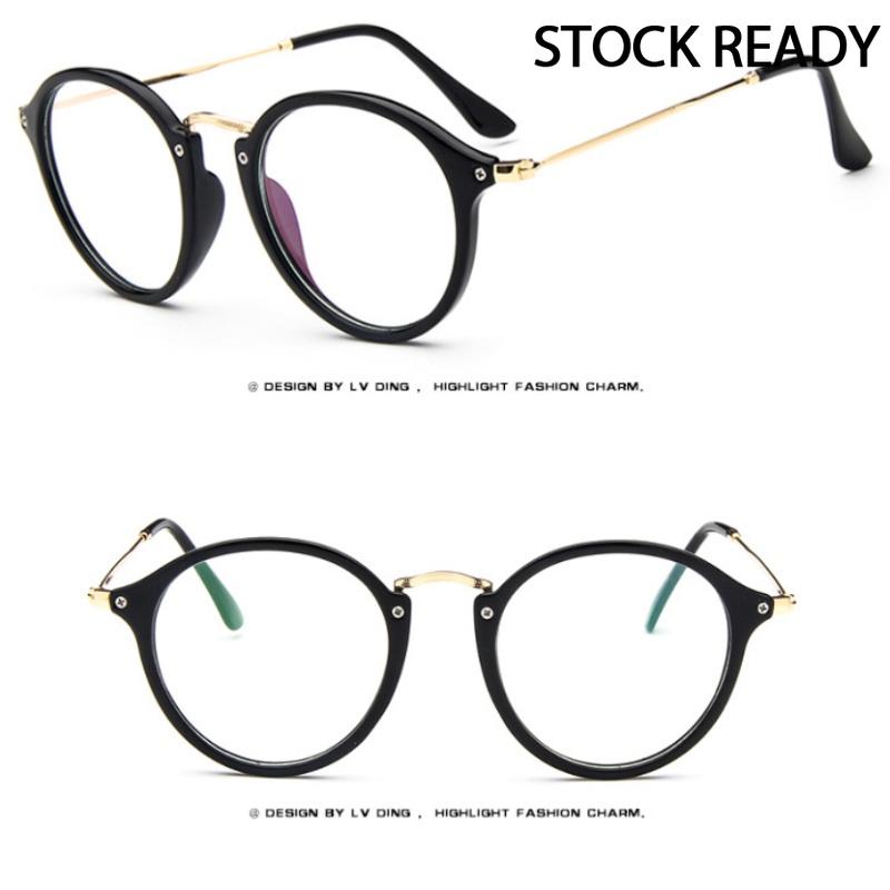 Mắt kính gọng tròn chống ánh sáng xanh thời trang Hàn Quốc cho cả nam và nữ