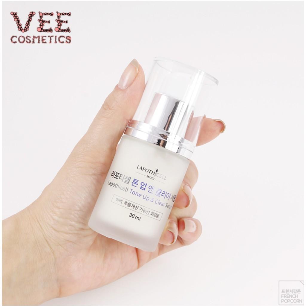 serum trắng da 💖 FREESHIP 💖 Serum dưỡng trắng da mặt Lapothicell 30ml