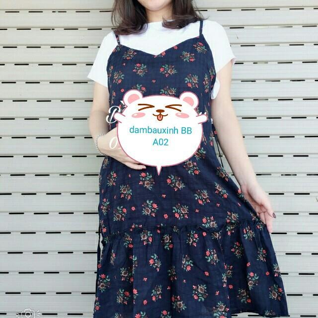 Đầm bầu suông BBA462