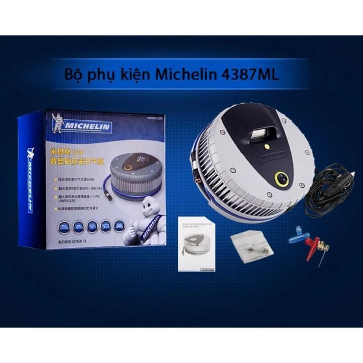 Máy bơm lốp oto, xe hơi điện tử cao cấp MICHELIN 4387ML