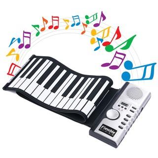 Đồ chơi đàn piano điện 61 phím gấp được