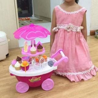 Bộ đồ chơi xe đẩy bán kem sỉ rẻ