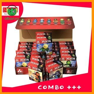 Bộ Xếp Hình Ninja 10 Mẫu (XH8001)