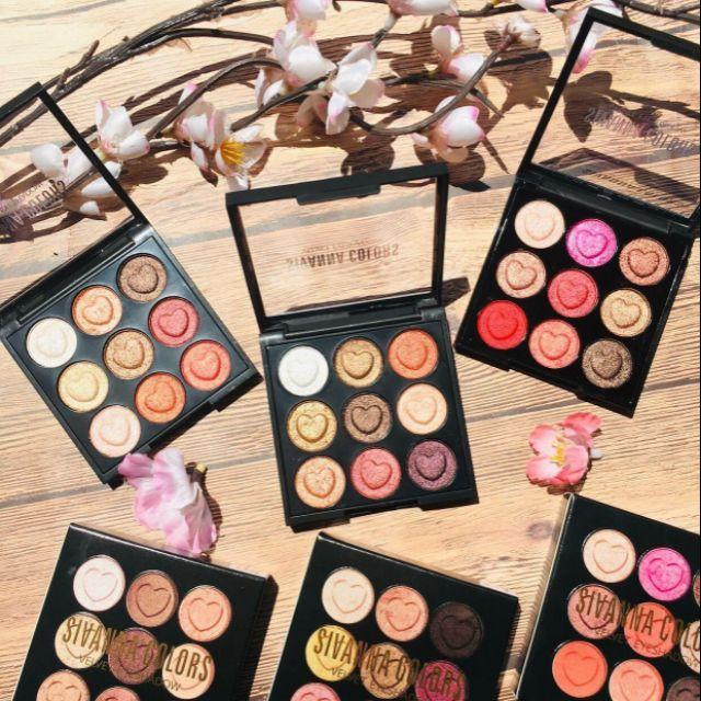 .Sivanna Colors Velvet Eyeshadow HF4002 🍓🍓