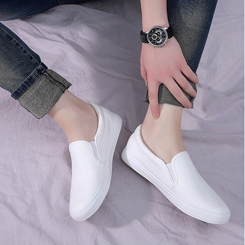 Giày lười vải nam nữ