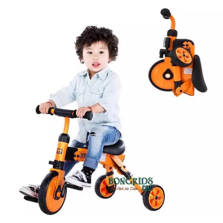 Xe đạp 3 bánh - chòi chân trẻ em 003 (Hàng cao cấp, có thể gập gọn)
