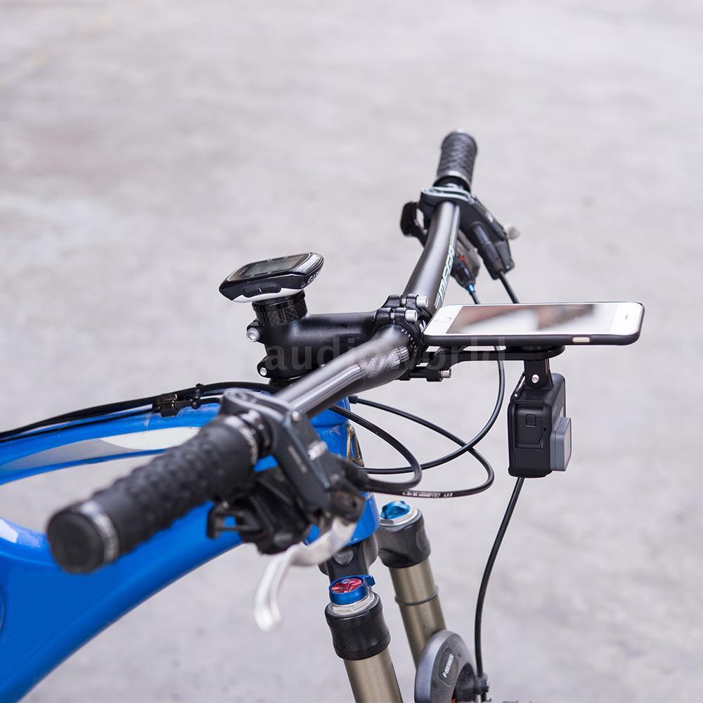 Phụ kiện kẹp điện thoại gắn ghi đông xe đạp