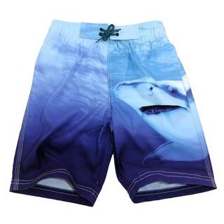 Bộ áo thun cộc tay in hình cá mập + quần buộc dây cho bé