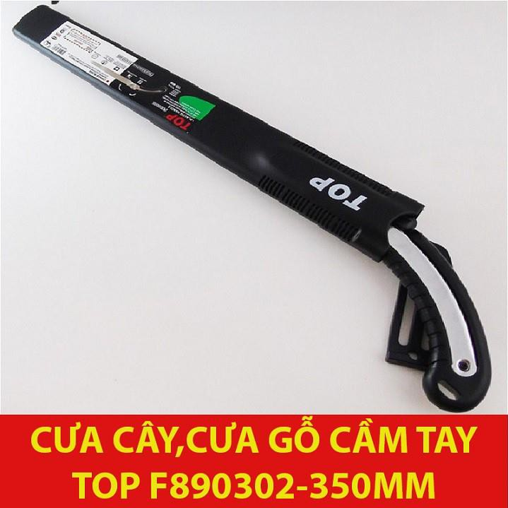 [HÀNG CÓ SẴN] Cưa cây, cưa gỗ cầm tay 350mm Top - F890302 (có bao đựng)