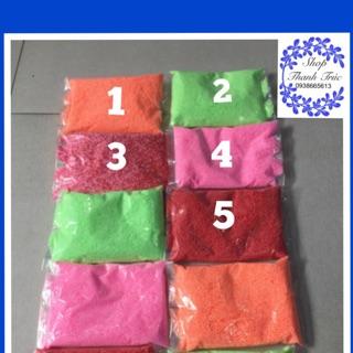 Hạt xốp nhỏ li ti dùng làm slime 10g