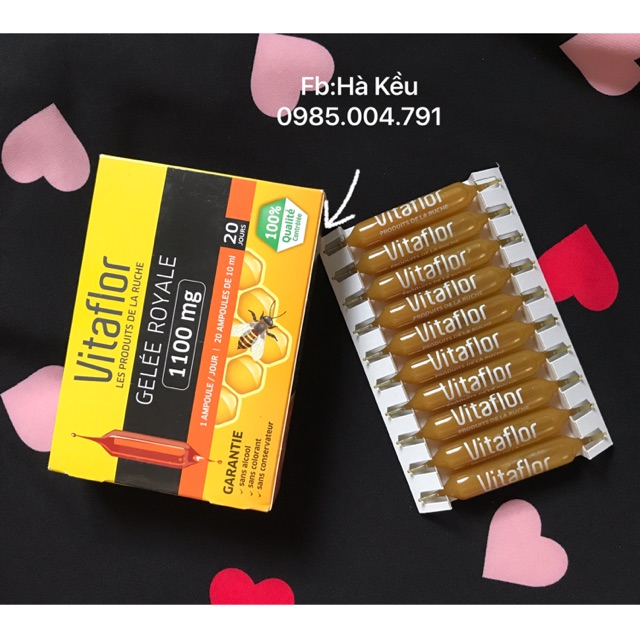Sữa ong chúa vitaflor 1100mg - 3267292 , 498157191 , 322_498157191 , 299000 , Sua-ong-chua-vitaflor-1100mg-322_498157191 , shopee.vn , Sữa ong chúa vitaflor 1100mg