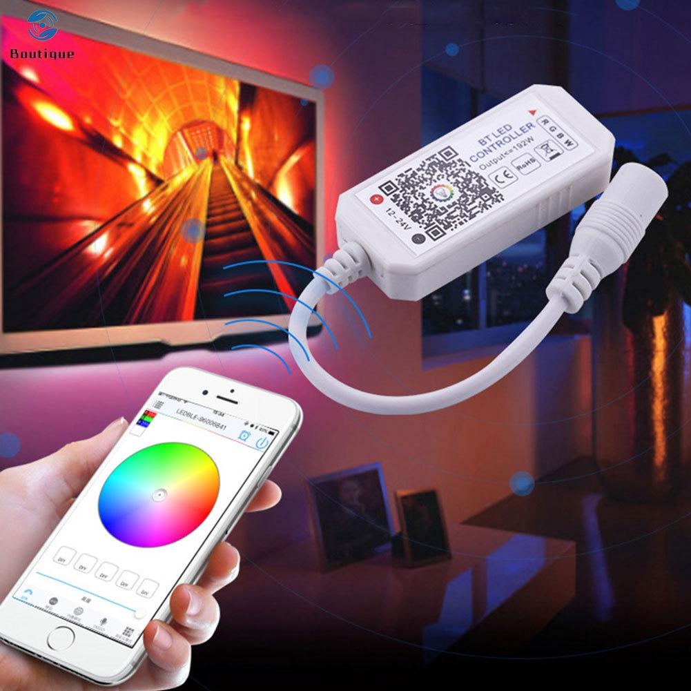 Bộ Điều Khiển Đèn Led Thông Minh Không Dây Kết Nối Bluetooth