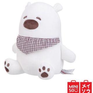 Gấu bông cao cấp lông nhung mịn gòn mềm hơn miniso
