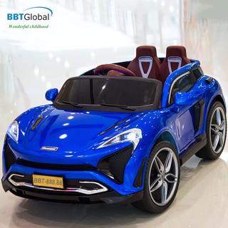 Ô tô điện trẻ em BBTGlobal dáng Mclaren sơn xanh BBT-888.88