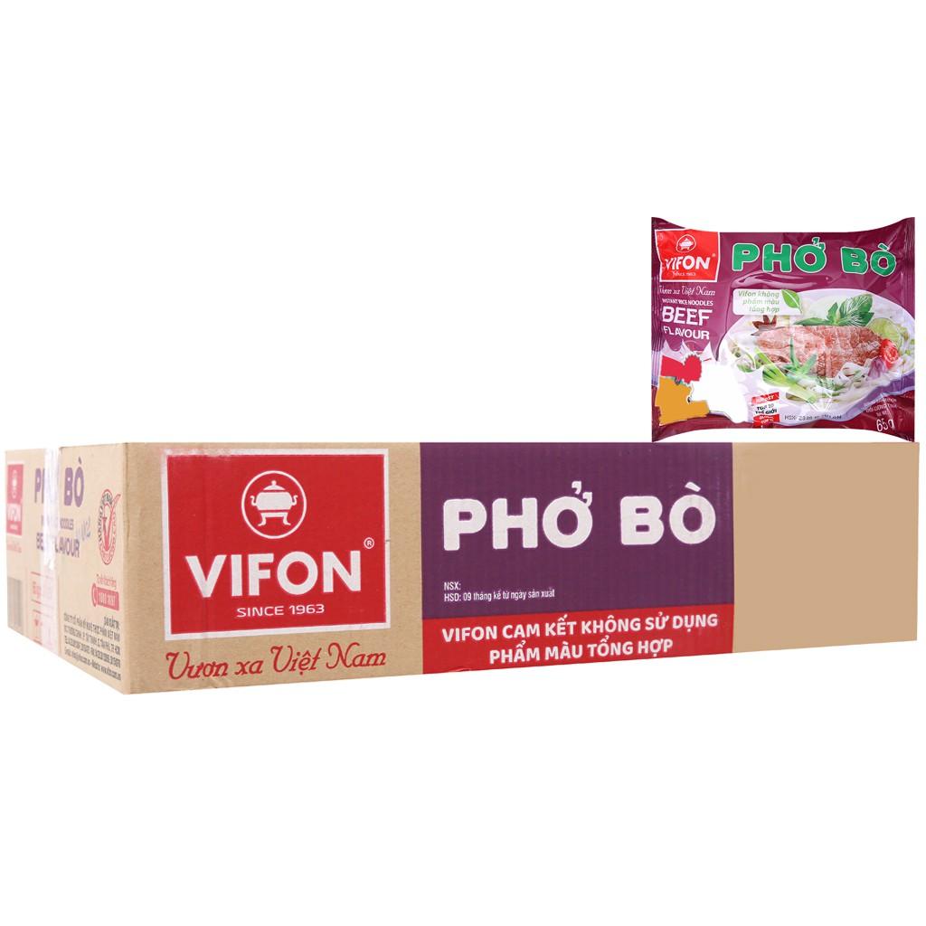 [HSD THÁNG 6.2020] Thùng 30 gói phở Bò ăn liền Vifon 65g - 22853450 , 6207072668 , 322_6207072668 , 150000 , HSD-THANG-6.2020-Thung-30-goi-pho-Bo-an-lien-Vifon-65g-322_6207072668 , shopee.vn , [HSD THÁNG 6.2020] Thùng 30 gói phở Bò ăn liền Vifon 65g