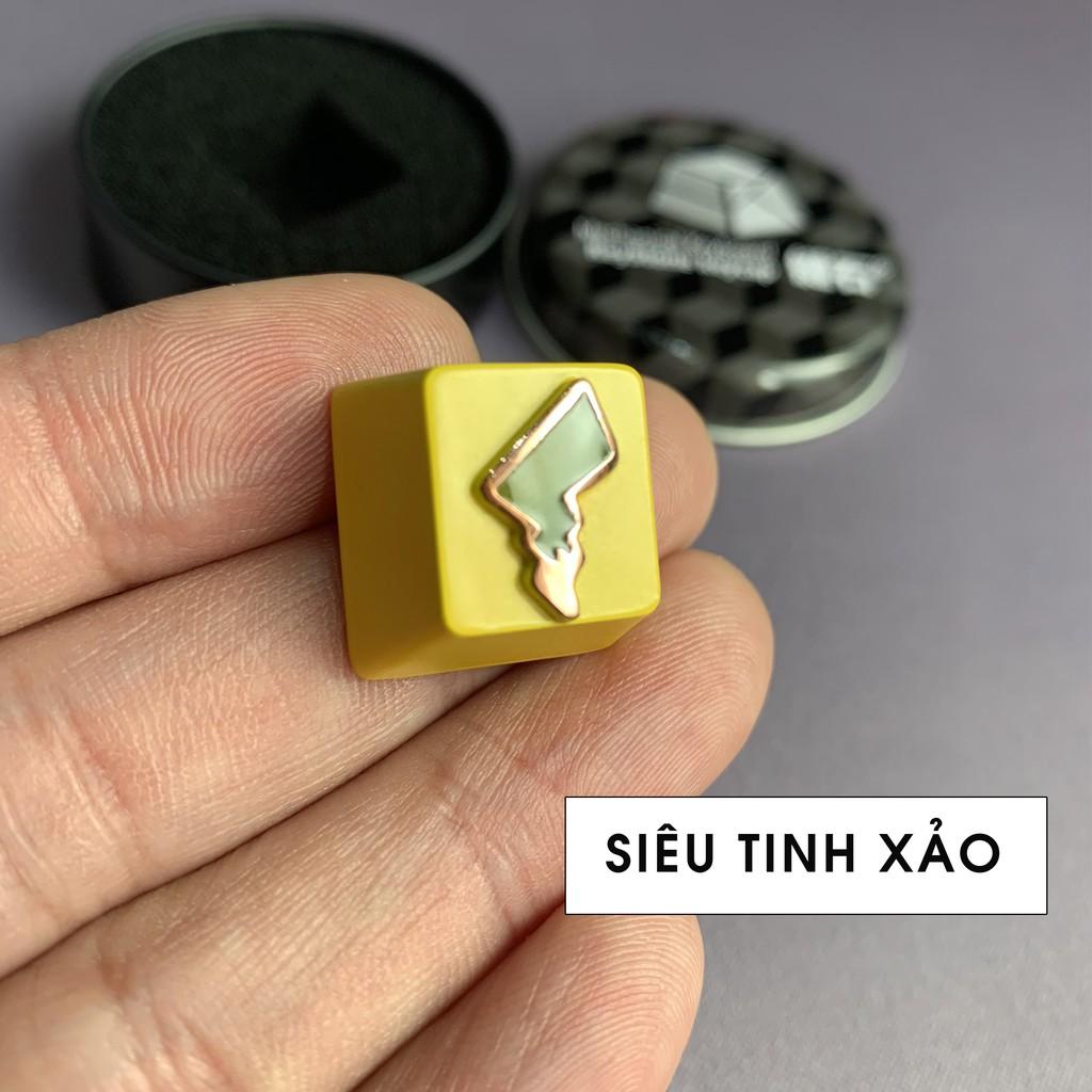[Mã SKAMPUSHA7 giảm 8% đơn 250k]Keycap Lẻ Cho Bàn Phím Cơ Chất Liệu Kim Loại