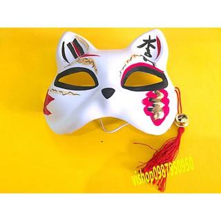 Mặt nạ mèo vẽ NHẬT BẢN _Mask fox/cat -cosplay mã JBQ83 W-11410