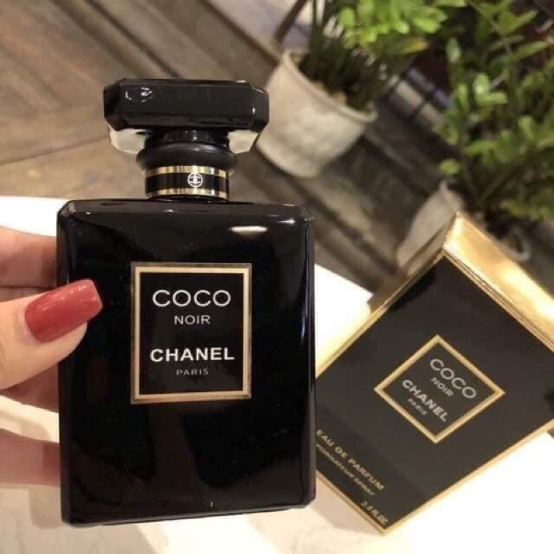 Nước hoa nữ  C0C0 Noir đen 100ml - Tự tin quyến rũ