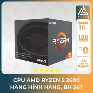 CPU AMD Ryzen 5 2600 TRAY NEW / Tản nhiệt khí CPU Jonsbo CR-1000 RGB