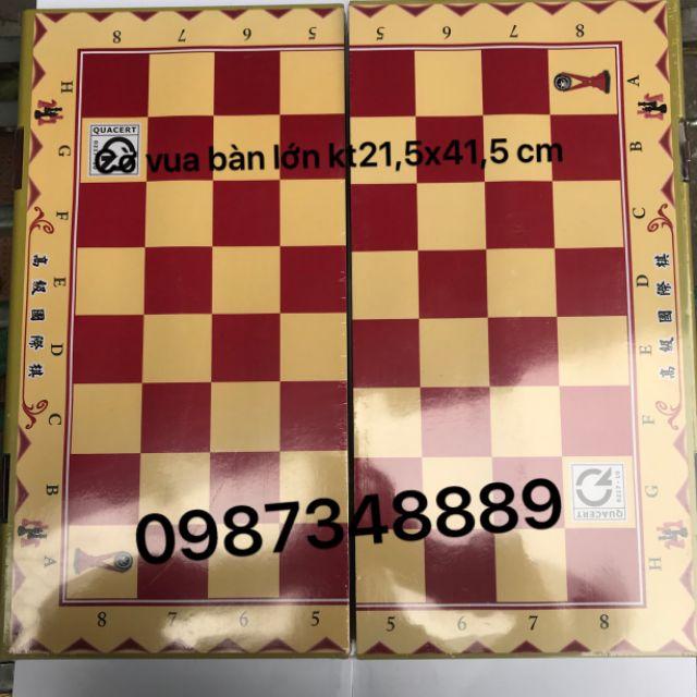 Cờ Vua bàn Lớn  kT:43×43cm.(Có quân) Trung Lê.