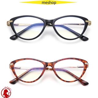 🍒ME🍒 Fashion Computer Glasses Reading Gaming Eyeglasses Blue Light Blocking Glasses Women & Men Anti Eye Eyestrain Oval Frame Non-Prescription Blue Light Blocker Glasses