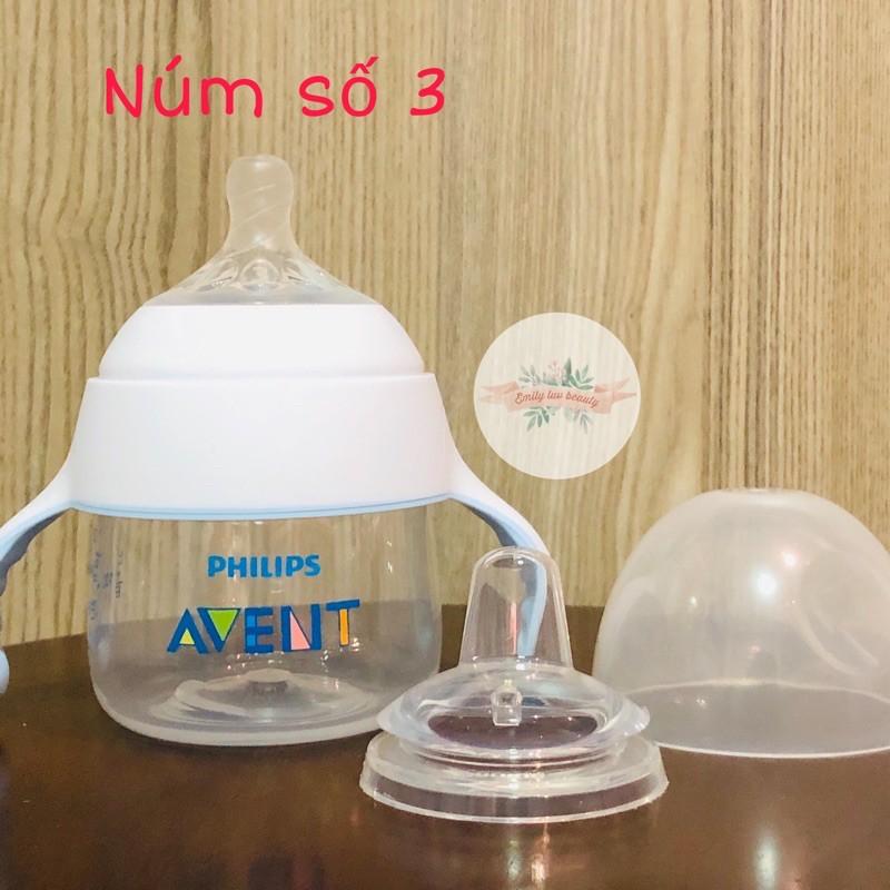 Bình tập uống 2-in-1 Avent cho bé 4M+ 150ml