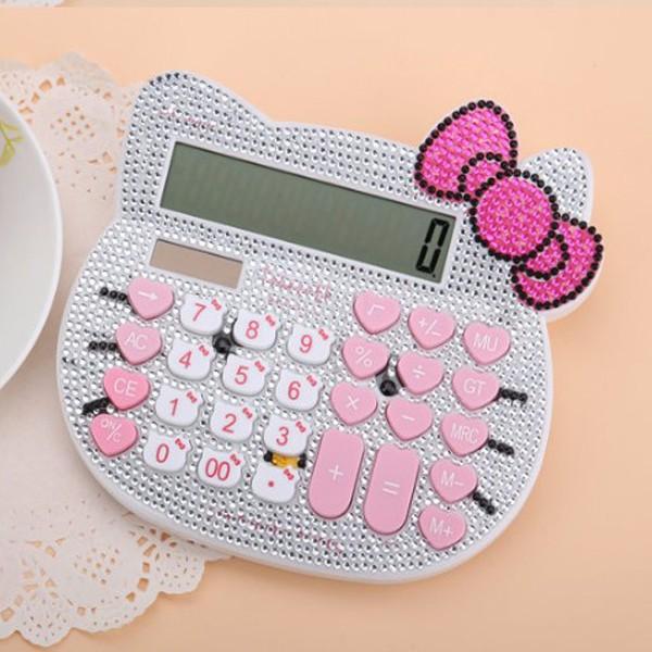 Máy tính cầm tay Hello Kitty đính đá siêu đẹp - 3027844 , 502217628 , 322_502217628 , 150000 , May-tinh-cam-tay-Hello-Kitty-dinh-da-sieu-dep-322_502217628 , shopee.vn , Máy tính cầm tay Hello Kitty đính đá siêu đẹp
