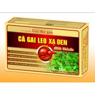 ✅(Hàng cao cấp) Giải độc gan CÀ GAI LEO XẠ ĐEN Moringa Detox Green