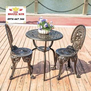bàn ghế nhôm đúc sân vườn uống trà bàn ghế ban công