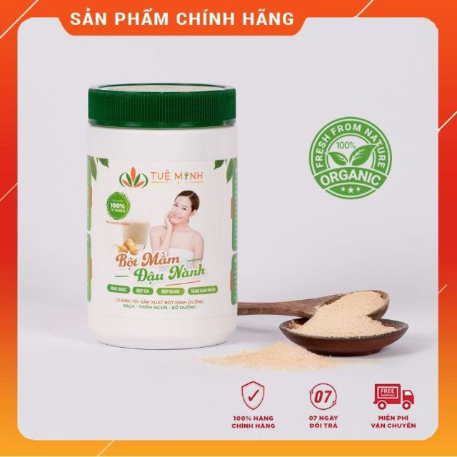 [MẪU MỚI 2020] 3 Kg Mầm Đậu Nành Tuệ Minh Chính Hãng Thơm ngon