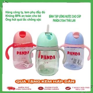 [ CAO CẤP ] Bình Tập Uống Nước Cao Cấp 310ml PANDA ❣️ Nhập Khẩu Thái Lan❣️ Cho bé từ 6m trở lên