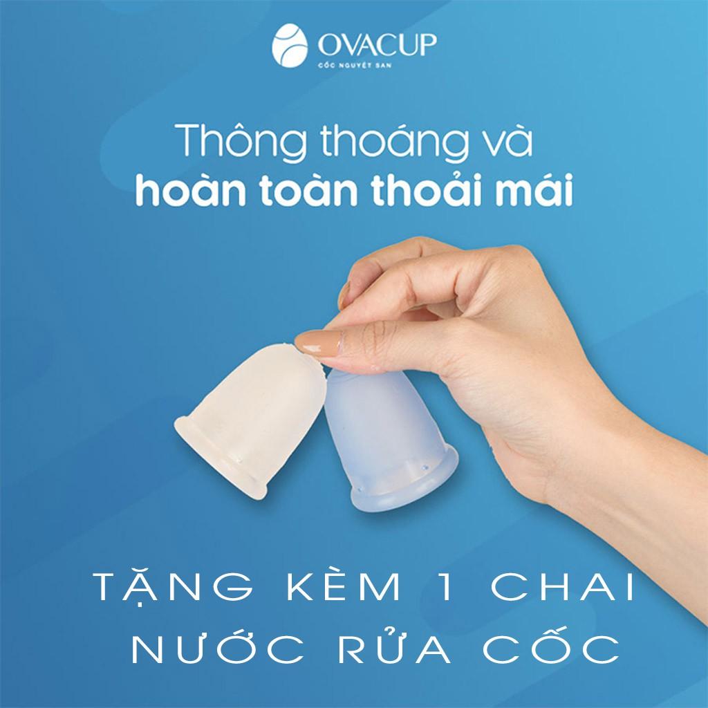 [ Ib Nhận Mã Giảm Giá + Combo quà tặng ] Cốc Nguyệt San OVACUP Quà tặng cho phụ nữ Việt