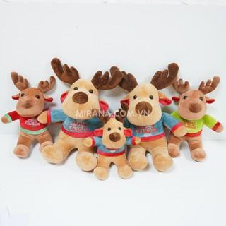 Gấu Bông Tuần Lộc Siêu Hot Mùa Noel