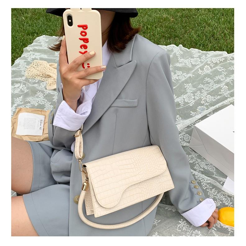 Túi xách nữ🔥HÀNG LOẠI 1🔥 túi đeo chéo nữ kết hợp kẹp nách nữ siêu hot 2020