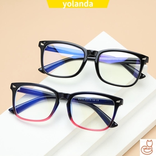 ☆YOLA☆ Unisex Anti Blue Light Glasses Anti Radiation Eyeglasses Office Computer Glasses Goggles Flexible Blue Light Blocking Anti Glare Video Gaming Glasses
