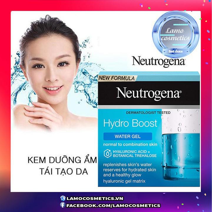 Kem Dưỡng Ẩm Neutrogena Hydro Boots Water Gel - Gel Cream Cho Da Dầu Và Da Khô
