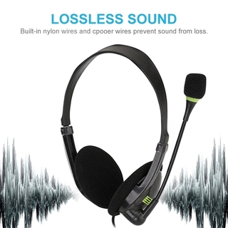 Voice Attendant Headphones Game Computer Over-ear Noise Reduction Mic Laptop Service Fashion Traffic